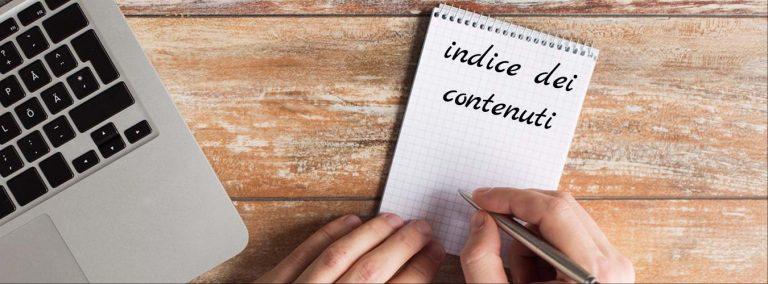 Come creare un indice dei contenuti con Word